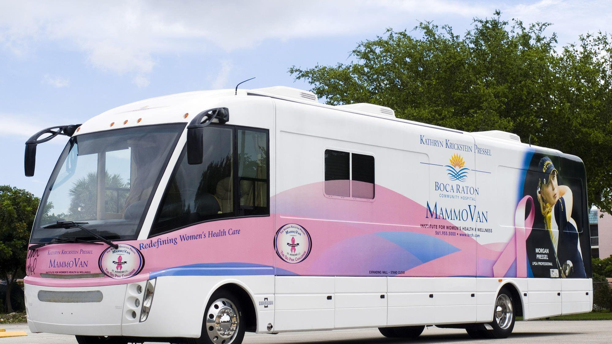 MammoVan To Visit Boca Raton Airport During Breast Cancer