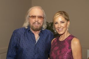 Barry Gibb and Chris Evert