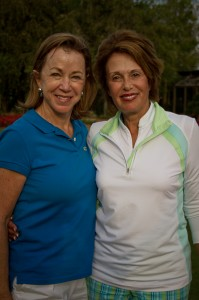 2013 Golf Classic Co-Chairs (L-R) Nancy Brown, Dianne Meckler