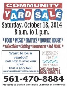 Community Yard Sale 2014
