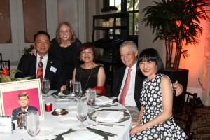 Howard Tai, Janice Williams, Evelyn Tai, Howard Guggenheim and Friend