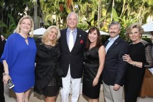 Bonnie Kaye, Lauren May Malis, Jon Kaye, State Representative Lori Berman, Dr. Jeff Ganeles and Pat Thomas