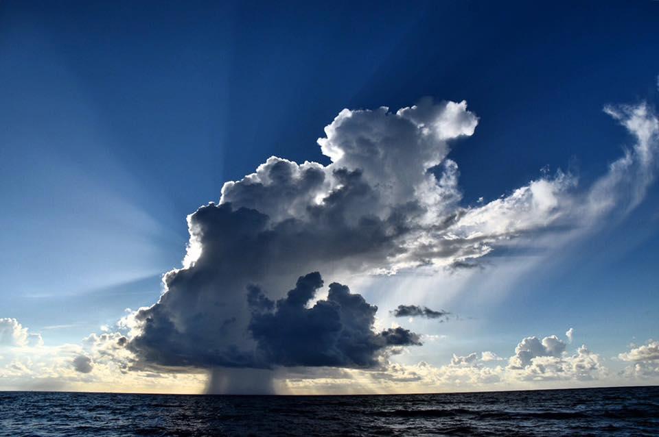 Happy Sunday Boca Raton - Early Morning Rain at Sea