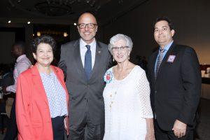 Lois Frankel, Ted Deutch, Rita Thrasher, Ted Bernstein