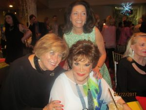 Marilyn and Kim Wick with Singer, Connie Francis