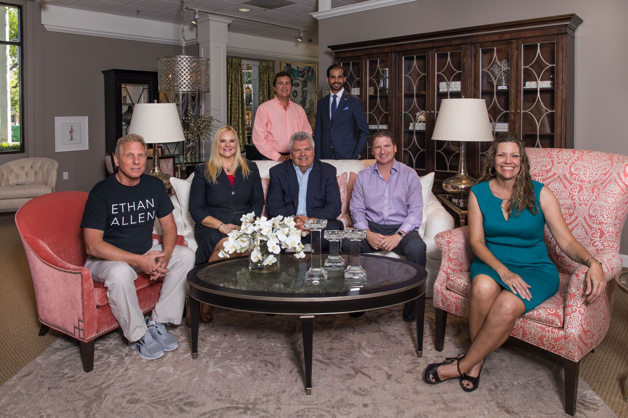 Habitat For Humanity Of South Palm Beach County Receives Donation Of A Broad Range Of New Furniture And Accessories From Local Ethan Allen Design Centers Boca Raton S Most Reliable News Source