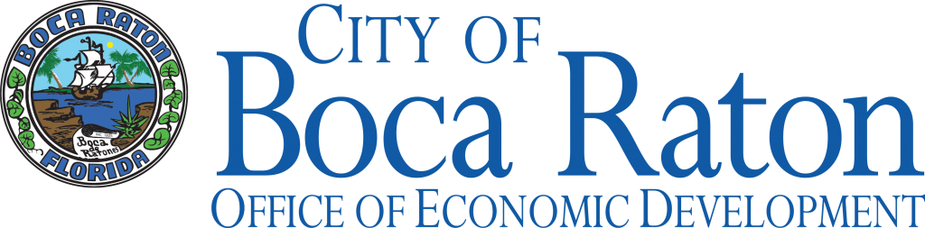 This image has an empty alt attribute; its file name is City-of-Boca-Raton-with-Seal-Left-Econ-Dev-1024x253.png